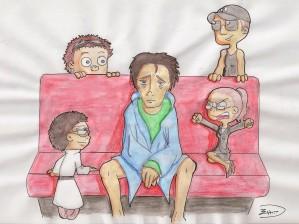 Fan art La dépression